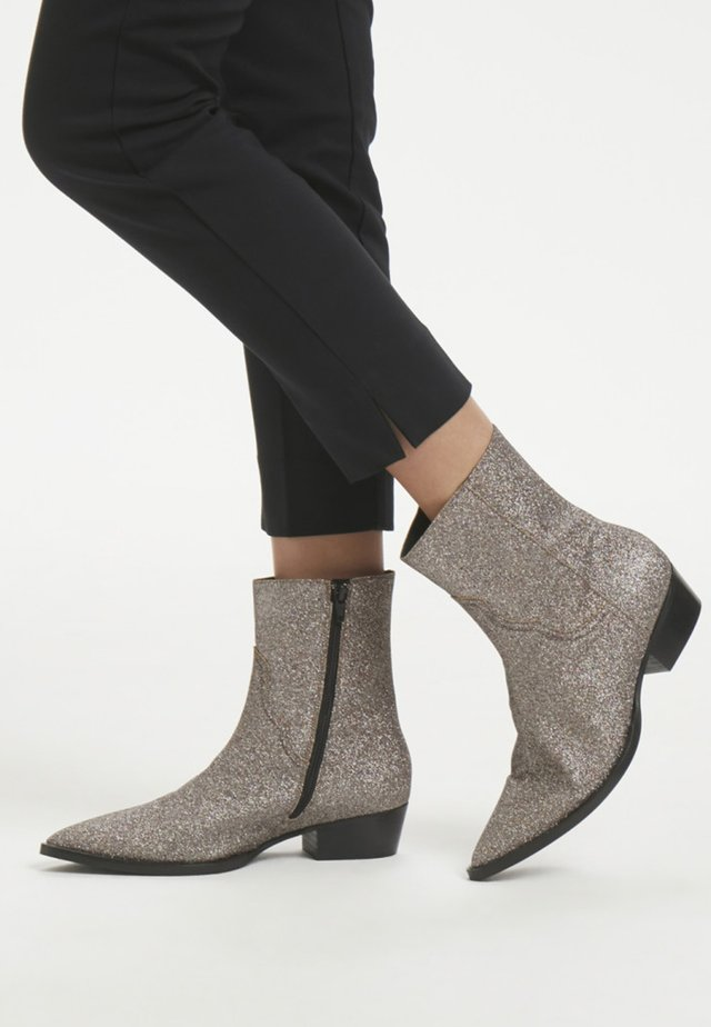 ADIRA - Classic ankle boots - silver