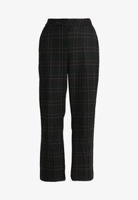 Gestuz - SATILLA SID CULOTTES - Pantalon classique - black - 4