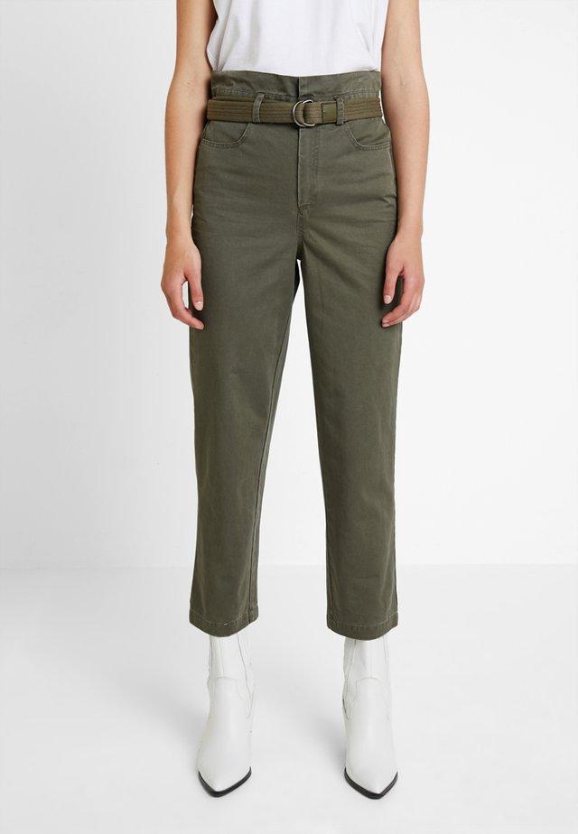BERMA PANTS  - Trousers - dark olive