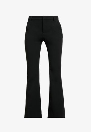 ESMA PANTS - Spodnie materiałowe - black