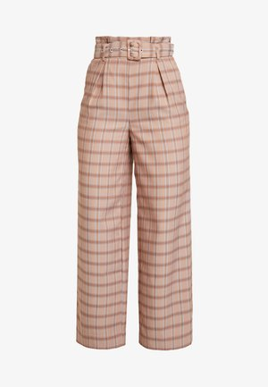 JIN PANTS - Trousers - light brown