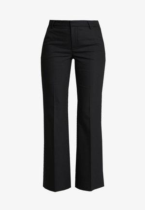 HAZAL CEN FLARED PANTS - Trousers - black