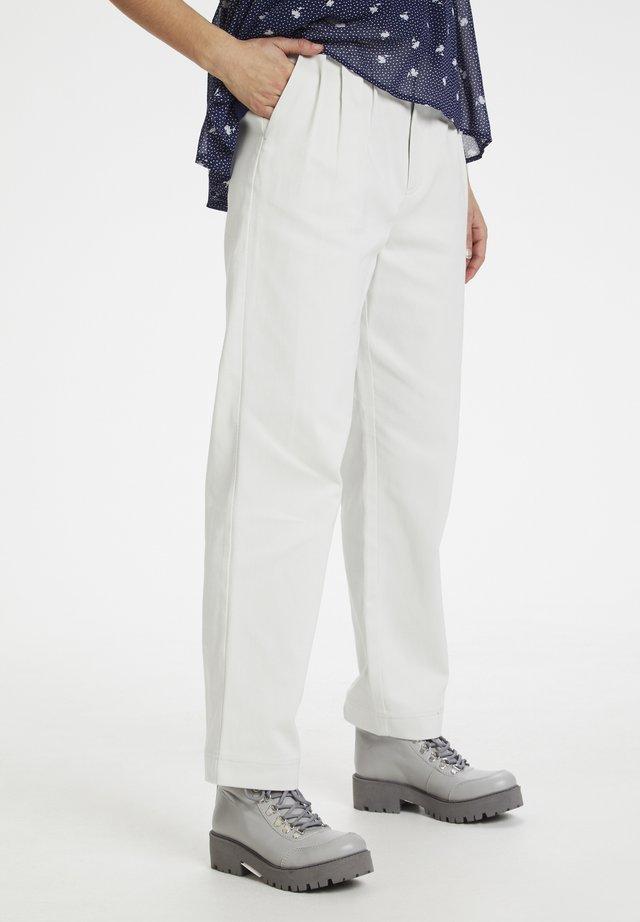 HS20 - Spodnie materiałowe - blue blush