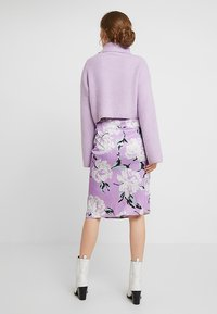Gestuz - GWIN SKIRT - Blyantnederdel / pencil skirts - purple - 2