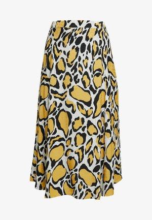 IRINA SKIRT - Falda larga - yellow