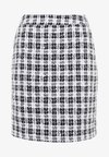 SKIRT  - Bleistiftrock - black/white