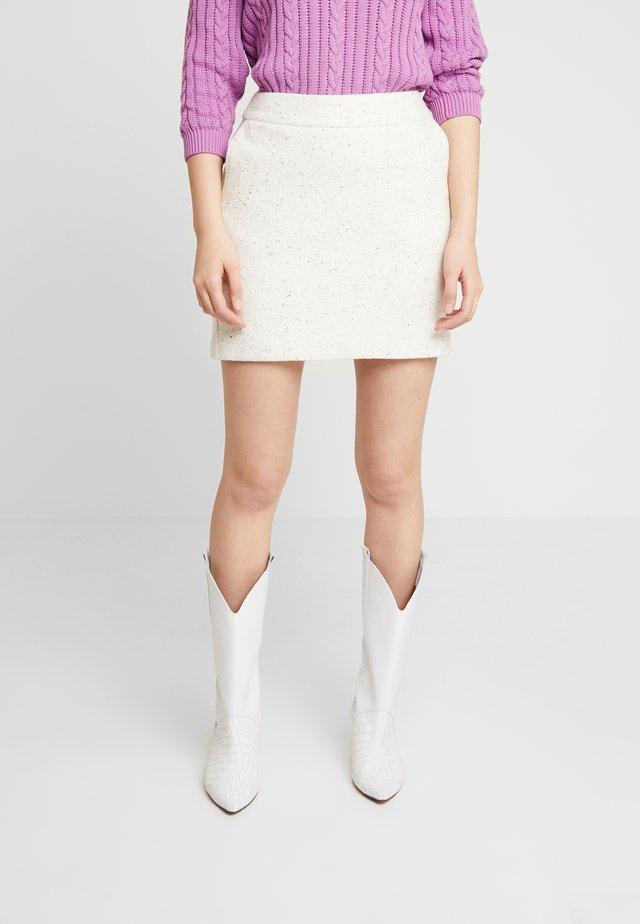 SADIEGZ SKIRT - Mini skirt - rainy day