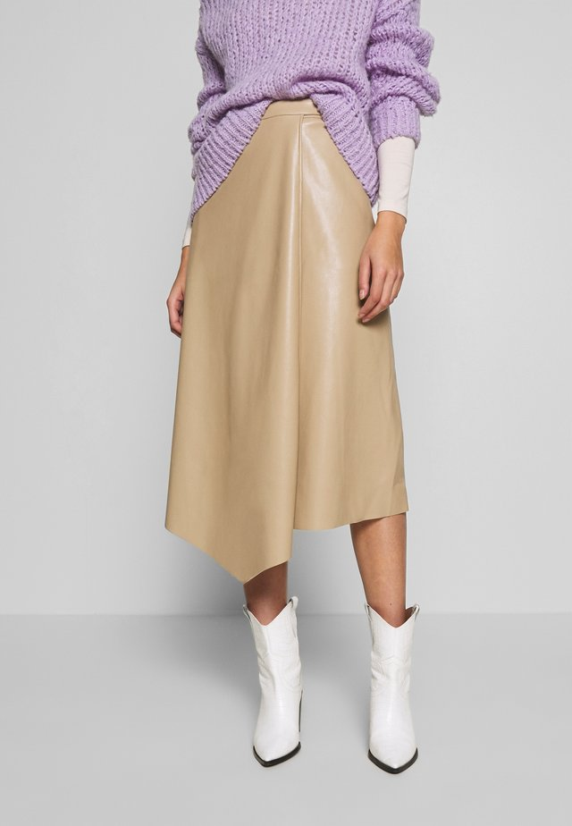 EVIE SKIRT - A-line skirt - safari