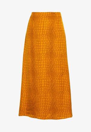 TABBYGZ SKIRT - Maxi skirt - golden oak