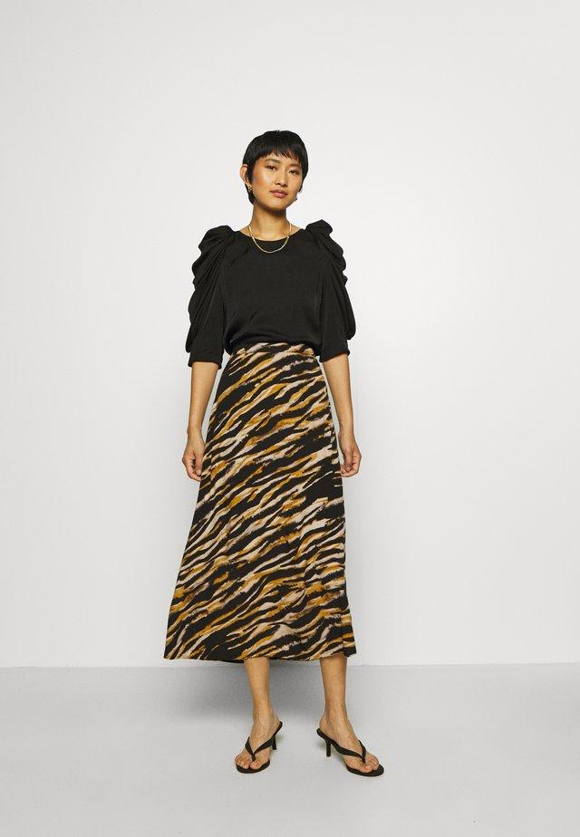 TIAGZ SKIRT - A-line skirt - black