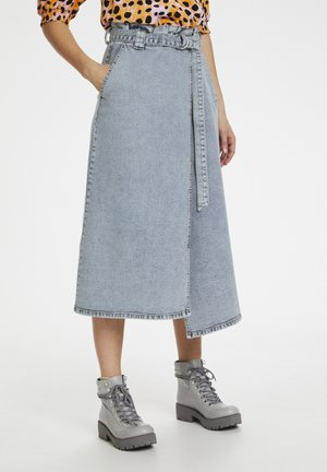 ATICAGZ SKIRT HS20 - Wikkelrok - light blue