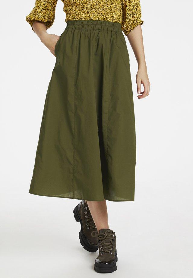 CASSIAGZ  - Spódnica trapezowa - dark olive