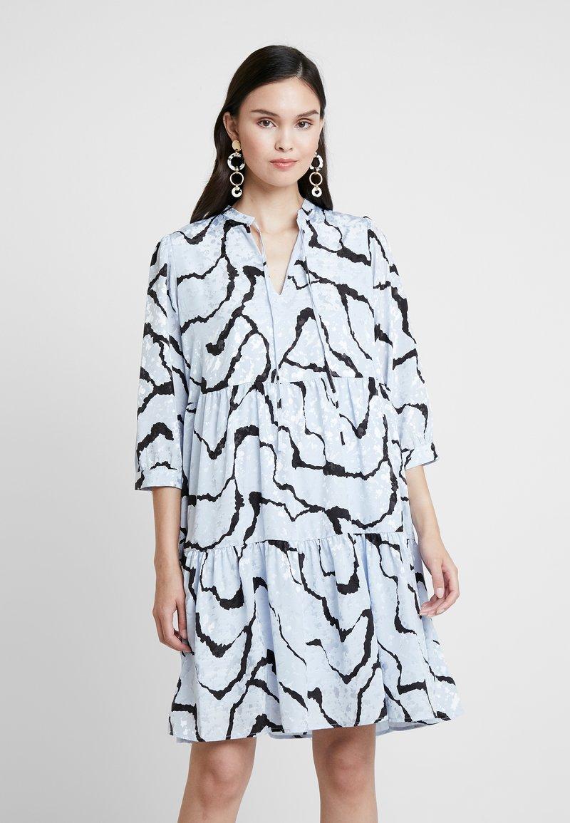 Gestuz - AYLIN DRESS - Freizeitkleid - blue ripple
