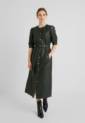 SURI DRESS - Košilové šaty - dark green