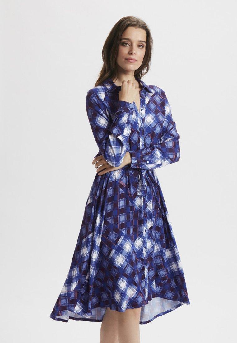 Gestuz - Blusenkleid - blue