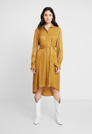 MERLE DRESS - Blousejurk - bone brown