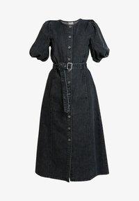 Gestuz - SIENTA DRESS - Denim dress - vintage black - 5