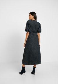 Gestuz - SIENTA DRESS - Denim dress - vintage black - 3