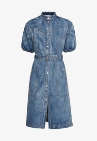 Gestuz - DACYGZ DRESS - Denim dress - medium blue - 5