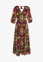 TESS LONG DRESS - Day dress - tropical yellow