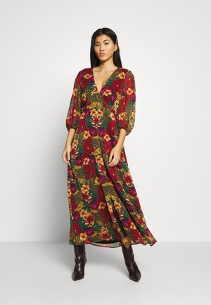 TESS LONG DRESS - Korte jurk - tropical yellow