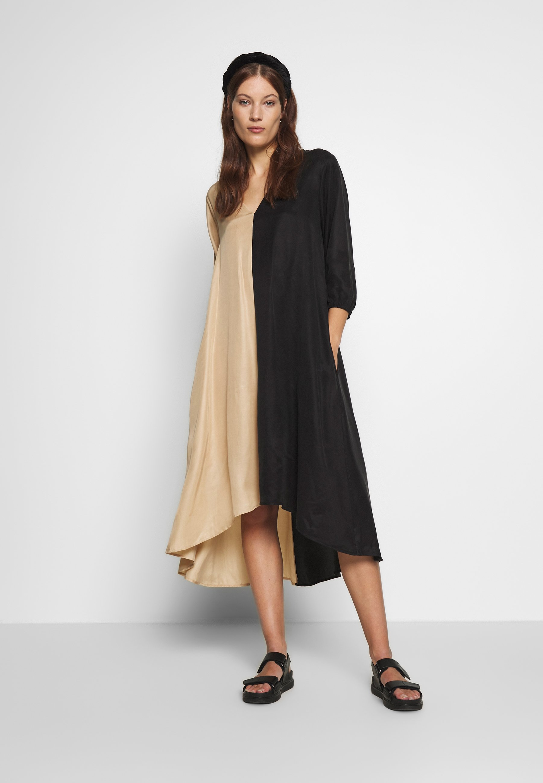Gestuz Lorah Dress - Vestito Estivo Black VrPKTsB