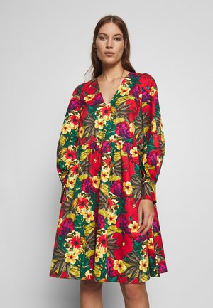 STELLA DRESS - Korte jurk - tropical yellow