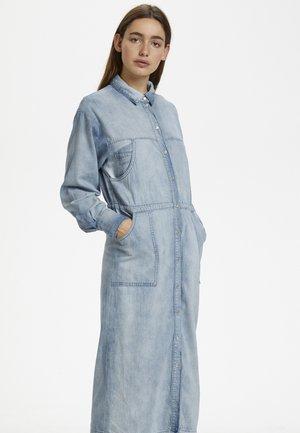 SISSELAGZ - Denim dress - light blue