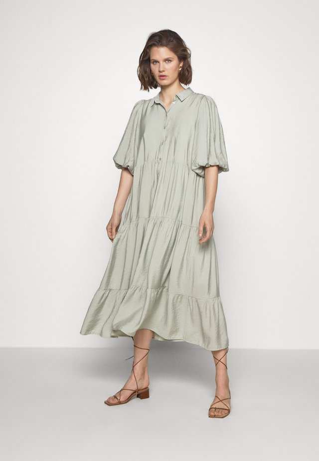 KIRITAGZ DRESS - Shirt dress - pale green