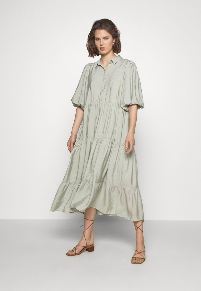 Gestuz - KIRITAGZ DRESS - Blousejurk - pale green