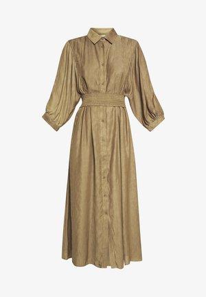 NATH DRESS - Shirt dress - toffee