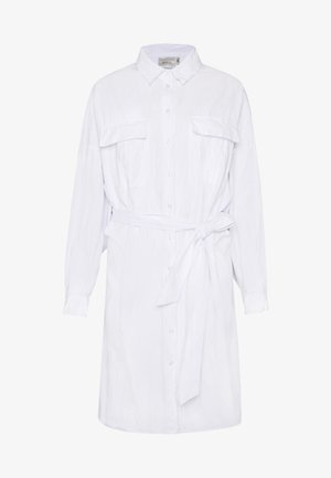 STALIA DRESS - Shirt dress - bright white