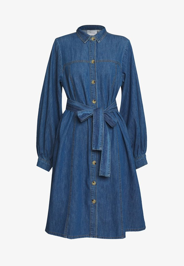 KAYO DRESS - Sukienka jeansowa - blue