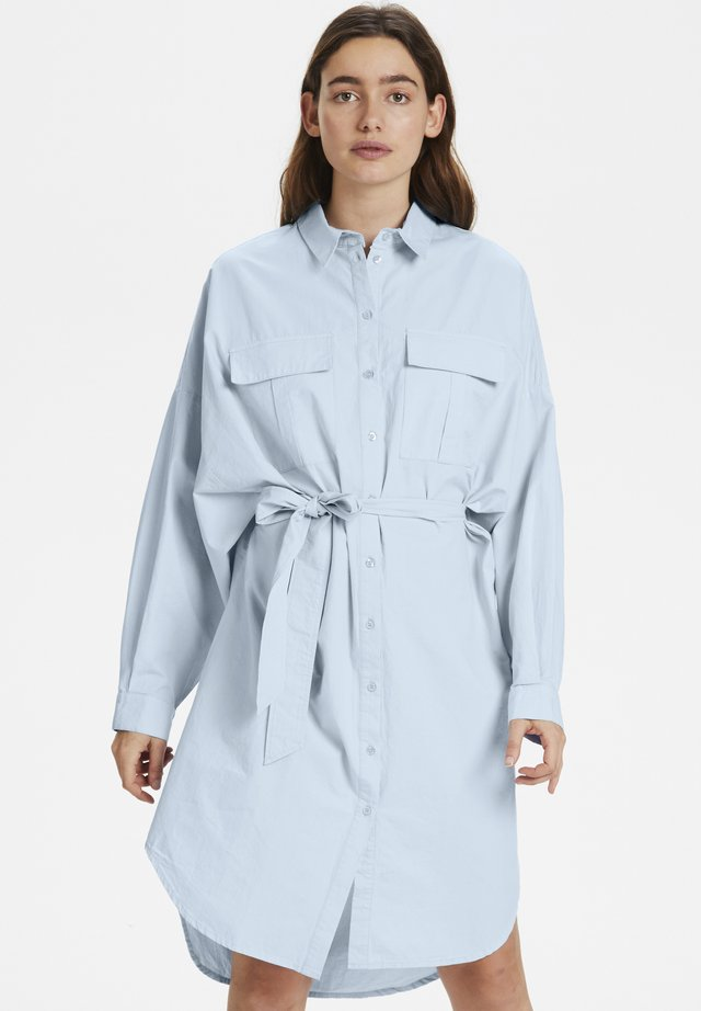 STALIAGZ OZ SHIRT DRESS - Blousejurk - xenon blue