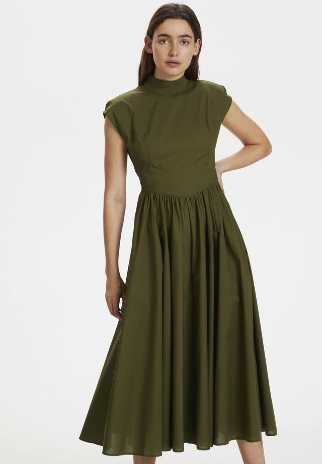 CASSIAGZ - Sukienka letnia - dark olive