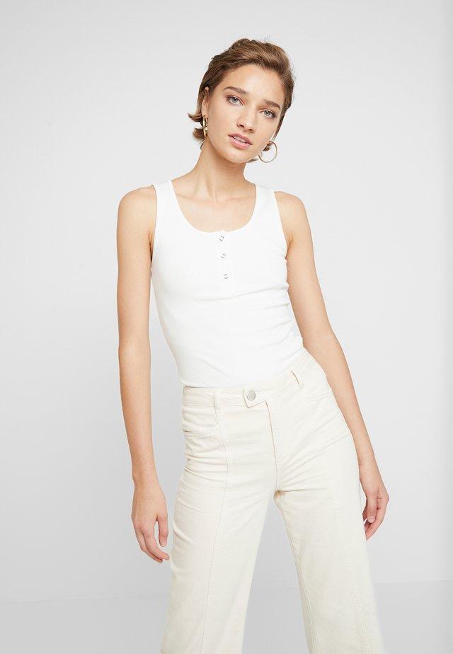 ROLLA TANK - Topper - bright white