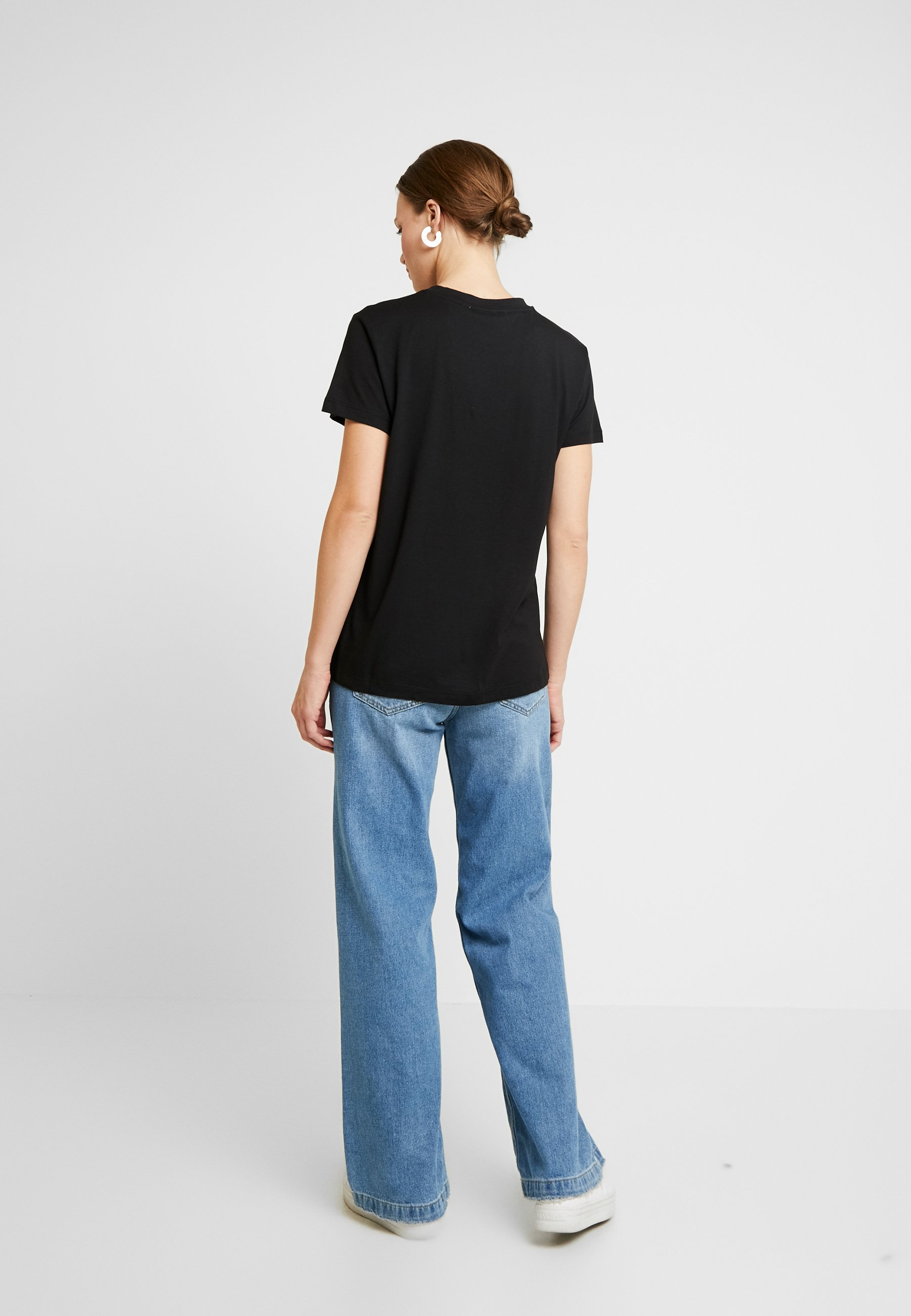 Gestuz VALDIS TEE - T-shirts - black