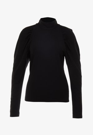 TURTLENECK - Collegepaita - black