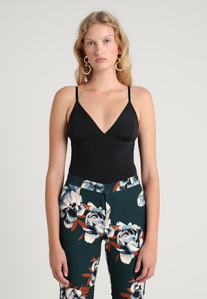 CAMI BODY - Linne - black
