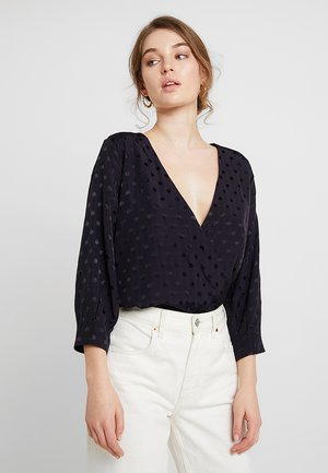 HALIA BLOUSE - Bluser - deep well