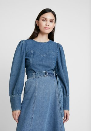 SERALA BLOUSE - Blouse - denim blue