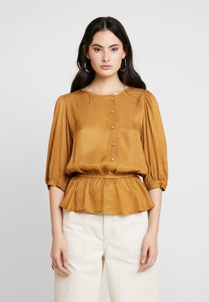 MERLE BLOUSE - Blouse - bone brown