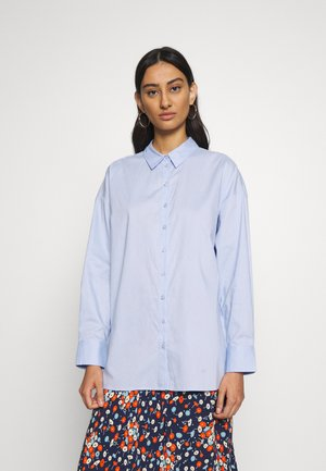 IBBY OVERSIZES - Overhemdblouse - xenon blue