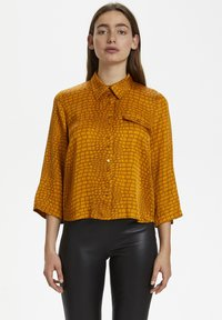 Gestuz - TABBYGZ - Button-down blouse - golden oak - 0