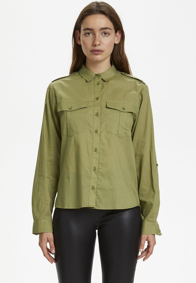 ZINAGZ  - Button-down blouse - green