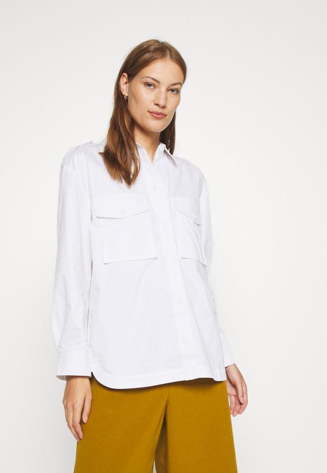CANNAGZ  - Button-down blouse - bright white