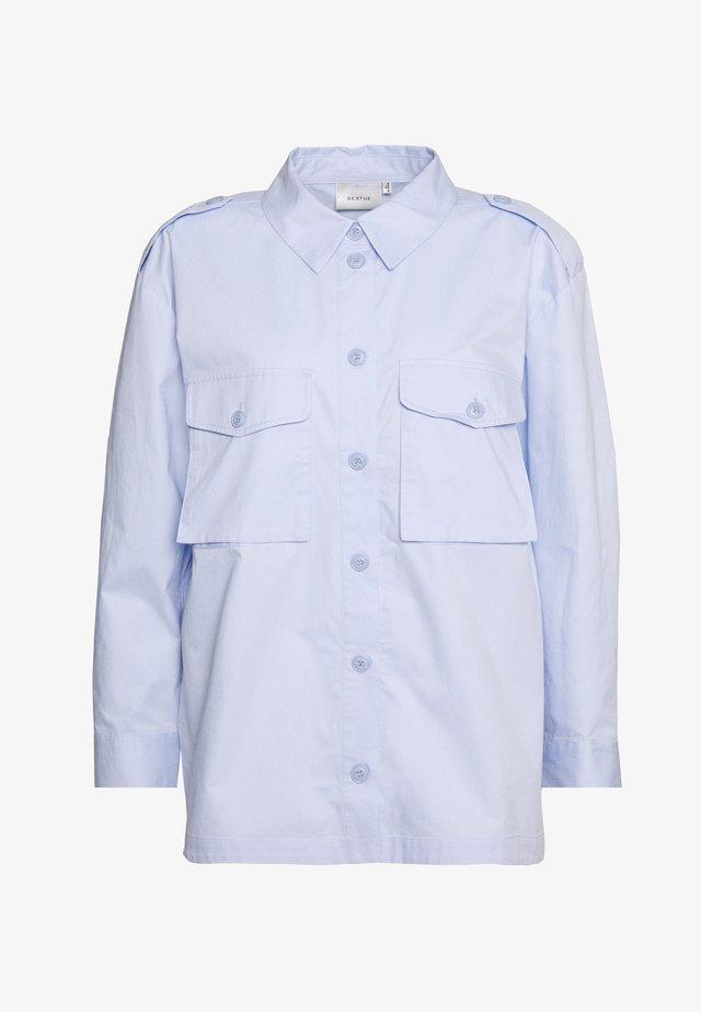 CANNAGZ  - Button-down blouse - dark xenon blue