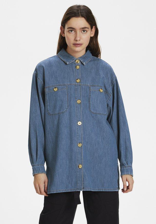 Button-down blouse - l.a. blue