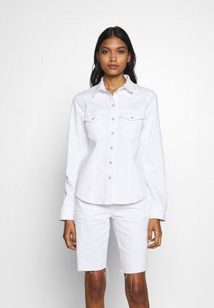 ASTRID - Button-down blouse - bright white