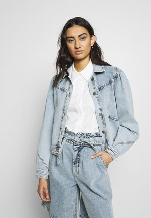 ATICAGZ JACKET - Kurtka jeansowa - light blue